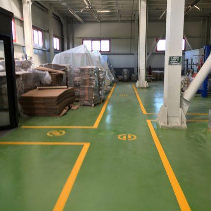 Fabrika İçi Yol ve Yön Çizgileri